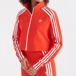 🆕 Adidas Originals Cropped Length Track Jacket
